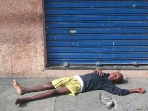 Salvador-Straßenkind