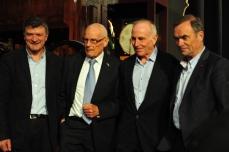 Bernard Thévenet, Jan Janssen, Joop Zoetemelk, Bernard Hinauld
